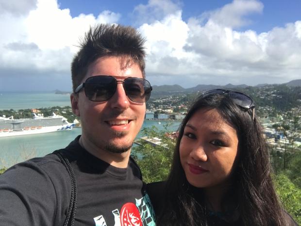 St. Lucia Selfie