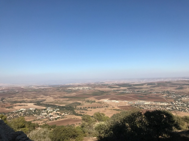 View of the Valley of Armageddon Israel