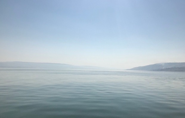 The Sea of Galilee Jesus Walk On Water Israel