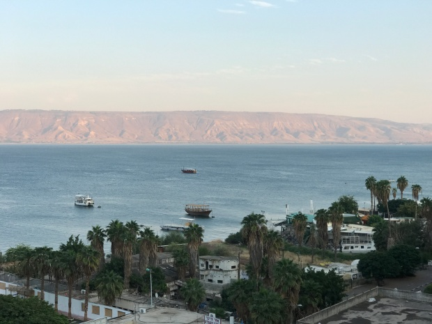 Sea of Galilee Sunset