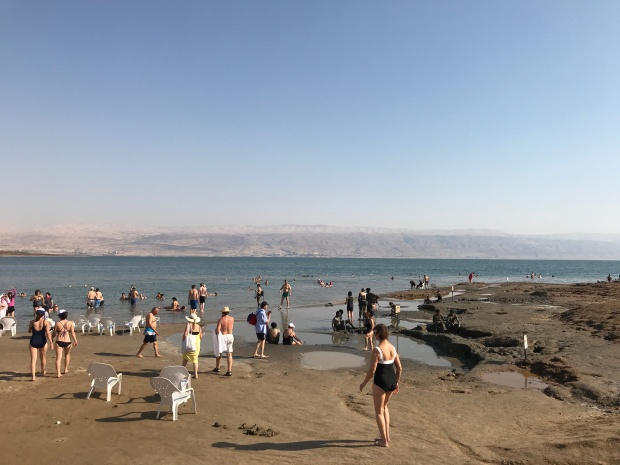 I could spend all day at The Dead Sea