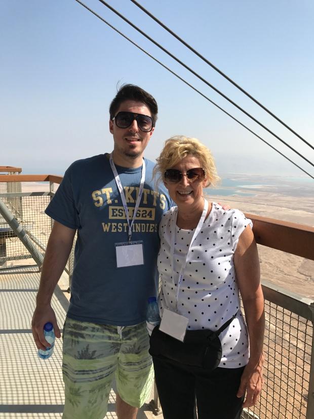 Atop Masada