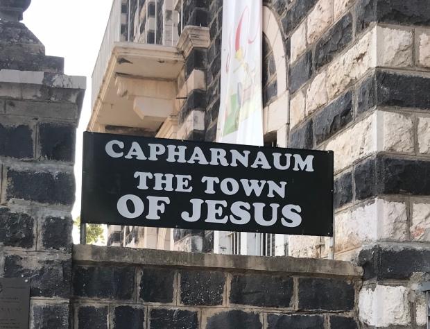 Capernaum in Galilee