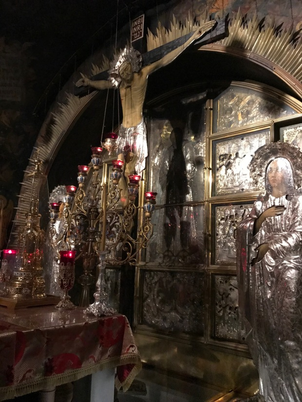 Golgotha (Place of the Skull) where Jesus was Crucified