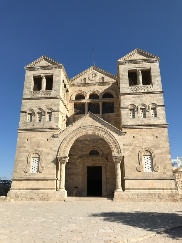 Church of the Transfiguration Mount Tabor