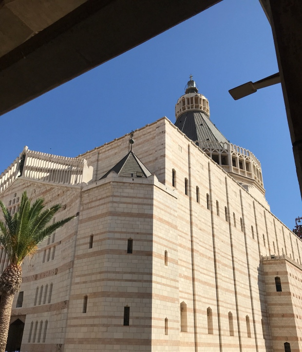 Church of Annunciation in Nazareth Israel