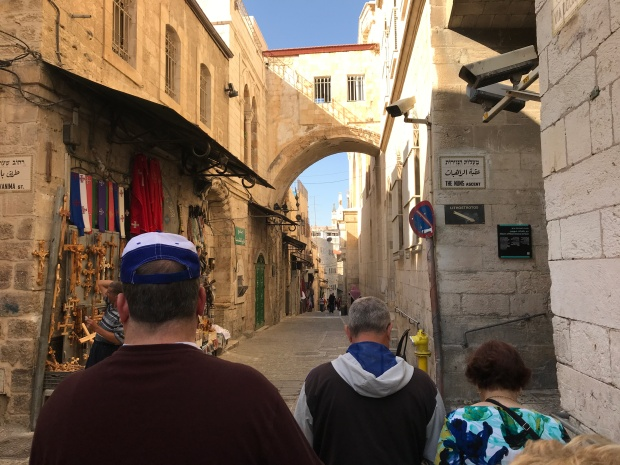 Old City streets of Jerusalem